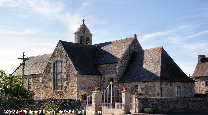 Église St-Pierre-St-Jean-Baptiste, à Andel.