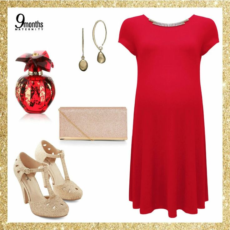 Strike it bold and strike it gold😎! Your baby bump needs a splash of red and gold glitter. Match our Red Embellished Shift Maternity Dress with a hint of gold accessories. Glittered clutch or gold metallic shoes, anything works!💋 www.9monthsmaternity.com  Shop the dress Red Embellished Shift Maternity Dress → $46.54  #9months #9monthsmaternity #maternityclothing #maternityfashion #maternitywear #maternitydress #dress