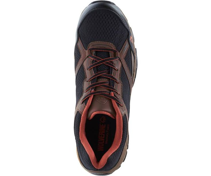 Men - Rush ESD CarbonMAX Safety Toe Shoe - Brown/Black | Wolverine