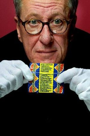 Geoffrey Rush's brief synopsis his daughter found on a Fantales wrapper.