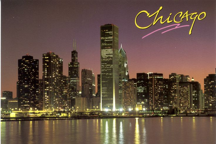 I love going to Chicago-