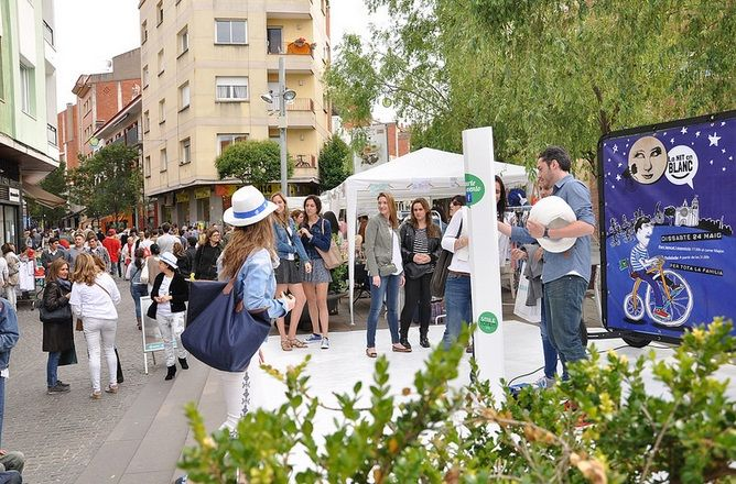"Event Hunters y ""La nit en blanc"" #eventhunters #bici #bicicleta #bicimupis #eventos #imagen #publicidad #publicidadmovil  #barcelona #santcugat #lanitenblanc"