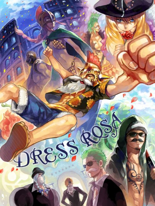 Arco de Dress Rosa One Piece