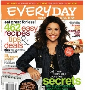 If you're in a dinner rut, here's a great deal to help you get out of it.  Through tonight at 11:59PM EST, hurry on over to Discount Mags to score an Every Day With Rachael Ray Two-Year Subscription for just $8 after you enter the coupon code HIP2SAVE at checkout.  With your 2 year subscription, [...]