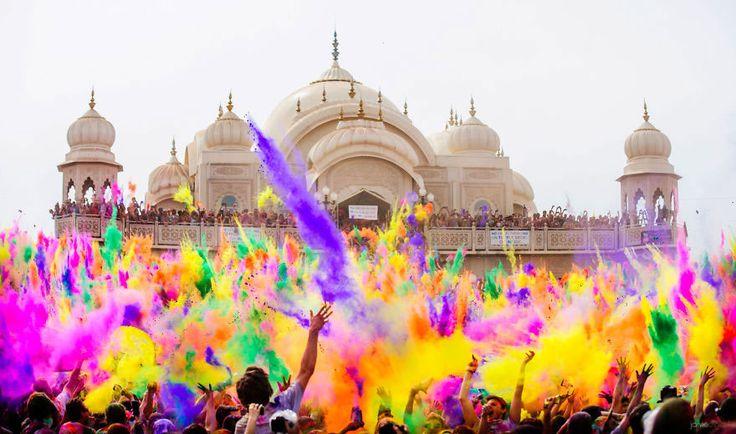 Holi, la fête des couleurs (Inde)
