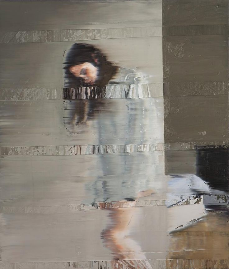 """Andy Denzler """"Something Waits For You to Breathe Again"""", 2012 (Oil on canvas)"""