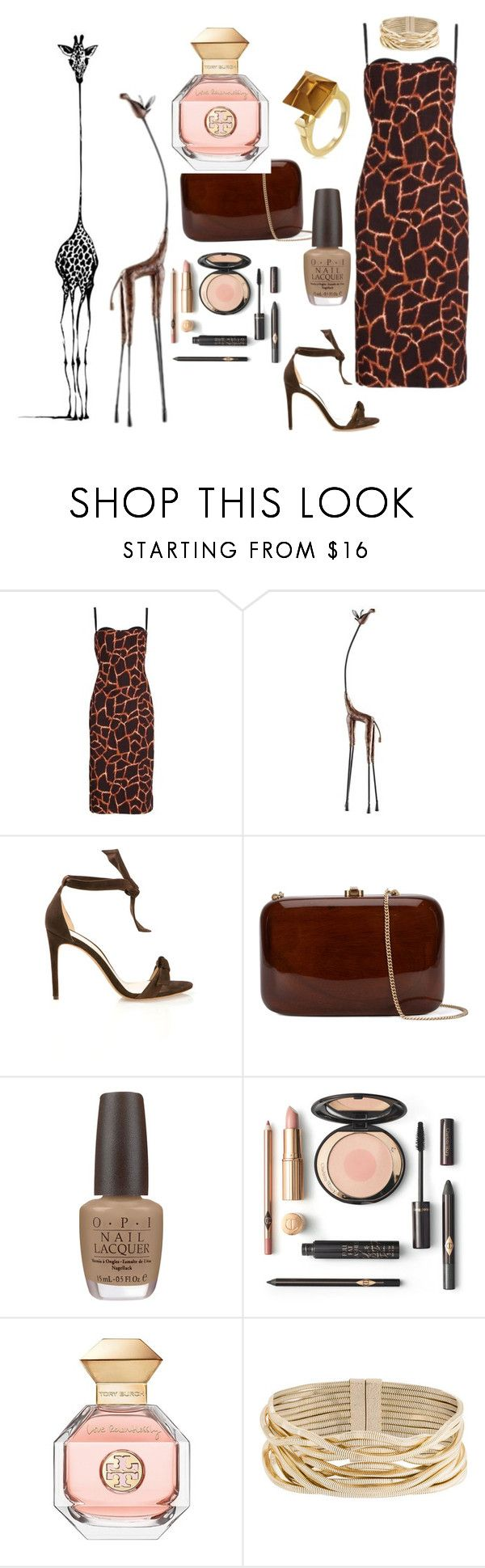 """""""Favorite animal"""" by vettec ❤ liked on Polyvore featuring Dolce&Gabbana, Cyan Design, Alexandre Birman, Rocio, OPI, Tory Burch, Rosantica and Gucci"""