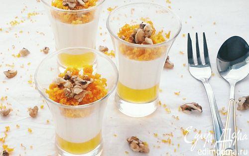 Нежная сливочно-апельсиновая панна-котта | Кулинарные рецепты от «Едим дома!»