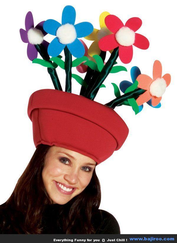 Sombreros Originales, Sombreros Divertidos, Sombreros Locos, Peinados Locos,  Gorro, Tareas, Hijos, Cuadernos, Disfraces