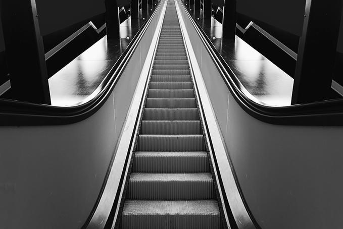The elevatorOrange Stairs, Orange Wecker, White Photography, Orange Zest, Colors, Architecture, Orange Obsession, Orange Escalated, Photography Bw