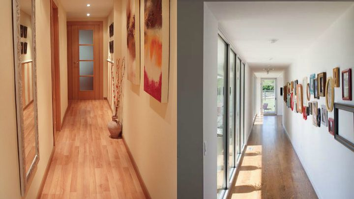 Cómo decorar un pasillo largo y estrecho
