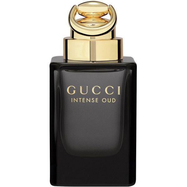 Gucci Intense Oud Eau De Parfum 90ml (2 385 ZAR) ❤ liked on Polyvore featuring men's fashion, men's grooming, men's fragrance and gucci mens fragrance