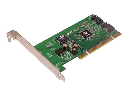 SIIG Serial ATA PCI - storage controller - SATA-150 - PCI / 66 MHz (SC-SAT212-S4) - by SIIG. $49.99. SIIG Serial ATA PCI - Storage controller - 2 Channel - SATA-150 - 150 MBps - PCI / 66 MHzSIIG's Serial ATA PCI host adapter is an ideal solution for expanding your SATA storage capacity to your desktop computer. It is designed to add two SATA channels for connecting up to two additional SATA hard disk drives. The Serial ATA PCI host adapter delivers data transfer...