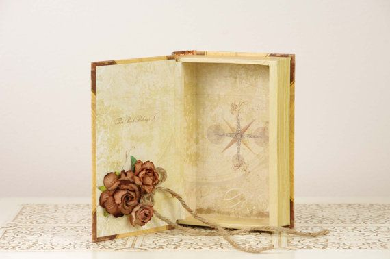 www.duryeaplace.com Neutral Ring Bearer Book with Italy Theme #wedding #Italy #ringbearer