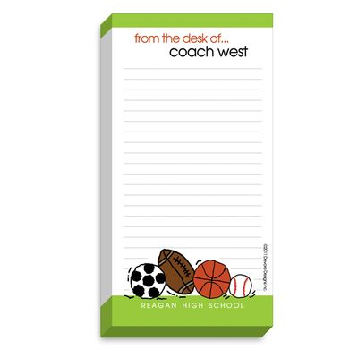 Coach Notepads