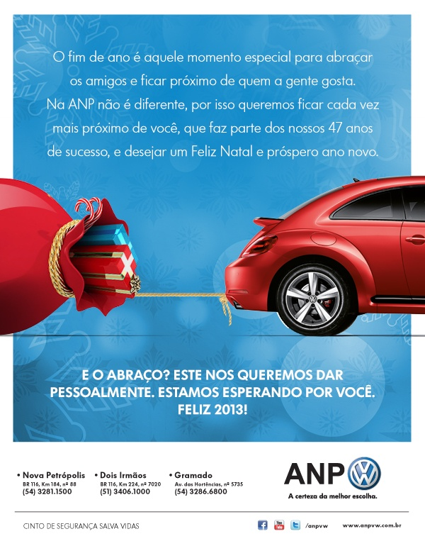 Fim de ano ANP Volkswagen, a certeza da melhor escolha.: Fim De