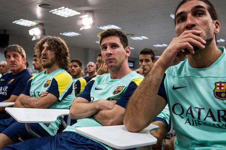 Lionel Messi - Tito Vilanova Press Conference