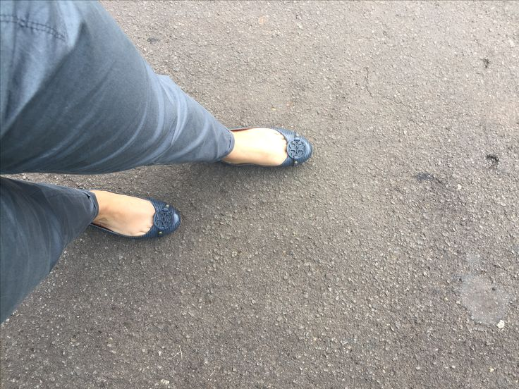 Blue Shoes...#Tory Burch#