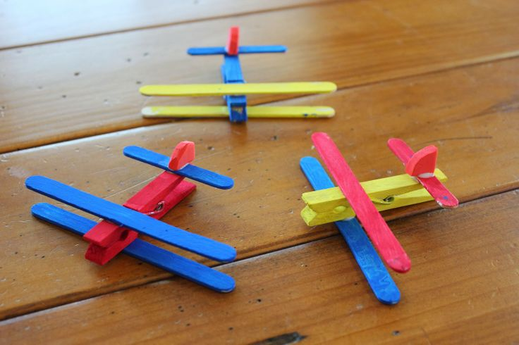 Get your kids to do some arts and crafts this winter holiday! Making planes from ice cream sticks and pegs is super creative! We have lovely wooden pegs for you: http://www.houseofyork.co.za/product/wooden-pegs #crafts #kids
