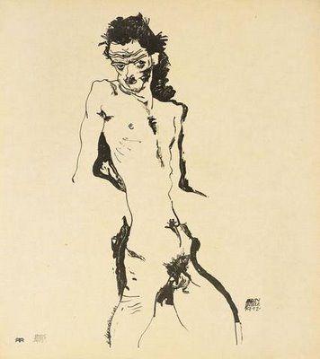 autoportraits d'Egon Schiele