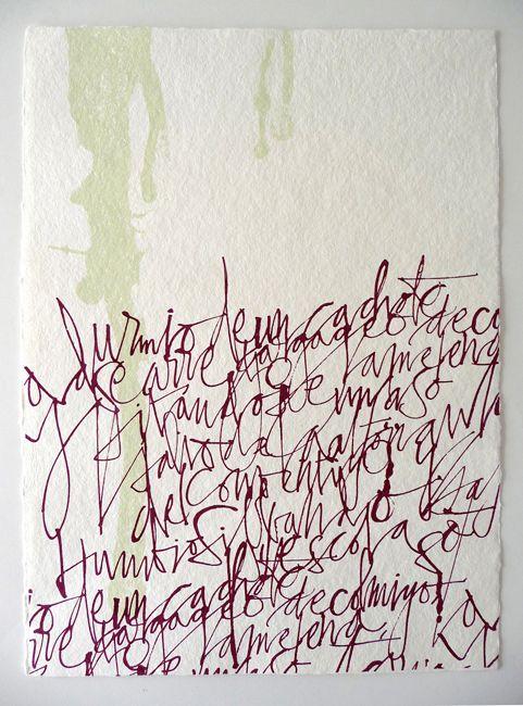 Silvia Cordero Vega - Calligraphy artist