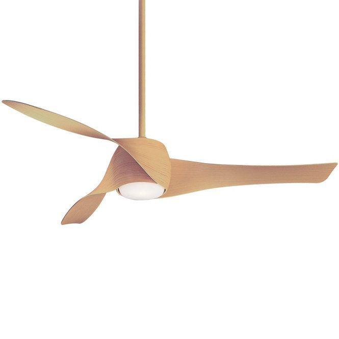 58 Contemporary Twisted Blade Led Ceiling Fan Deco Chambre Led