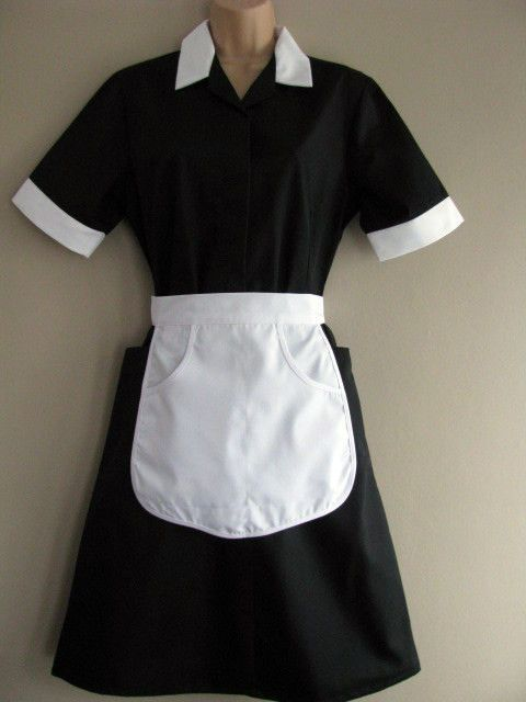 Professional Brand New Vintage Maid Uniform Dress Outfit Rocky Horror Magenta