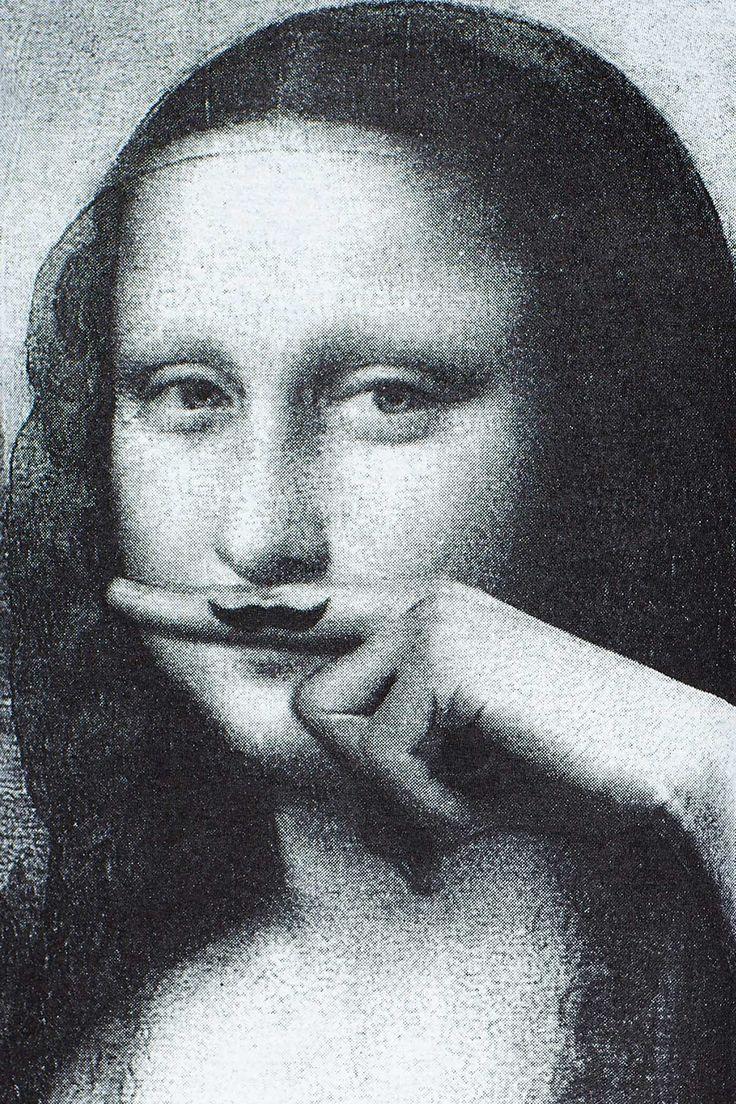 Mona Lisa Mustache.