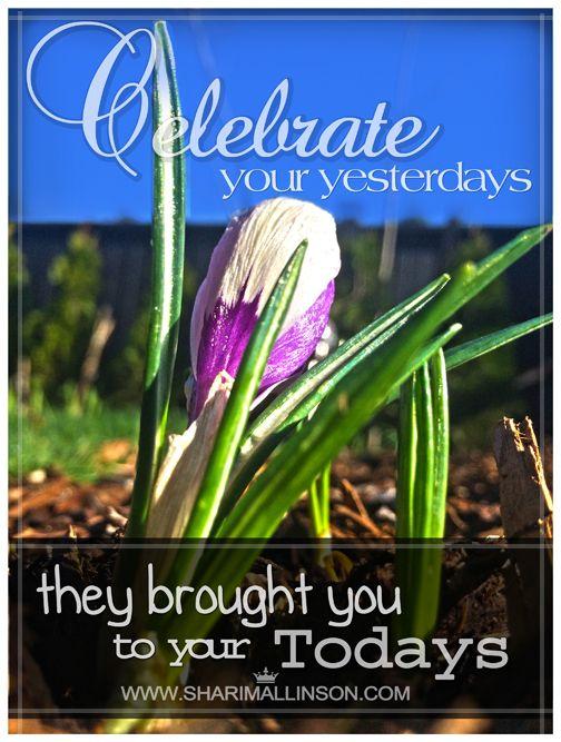 Celebrate! :) www.sharimallinson.com #celebrate