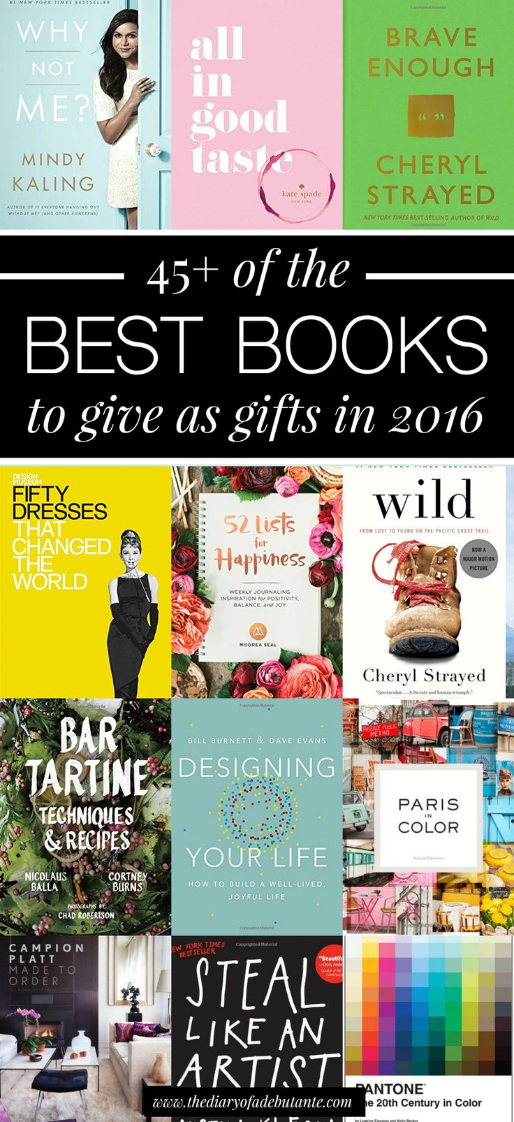 Best Ladies Gifts 2016 Part - 35: A Collection Of The Best Books To Give As Gifts For 2016 Broken Down Into  Books