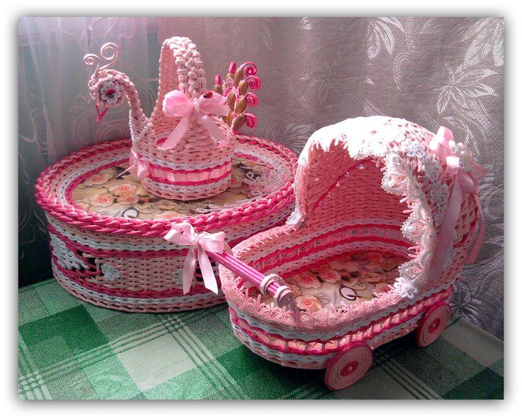Розовый набор.