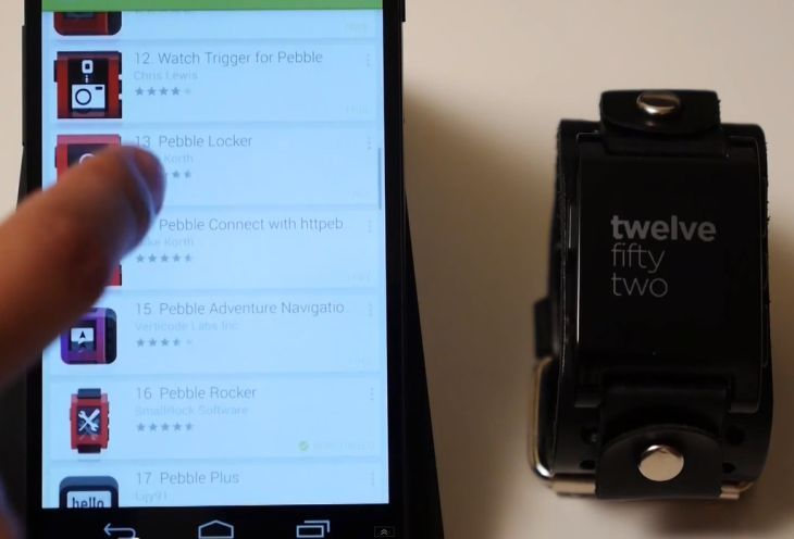 A closer look at the Pebble smartwatch and App Store for Android.
