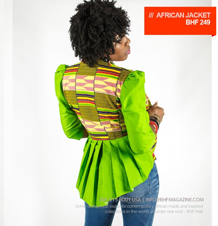 African Jacket - THE BHF SHOPPING MALL