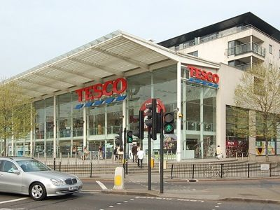 Tesco Superstore London - Cromwell road
