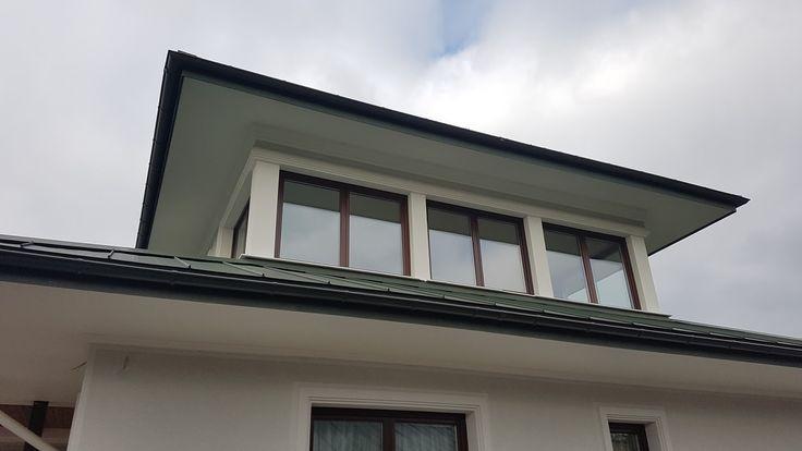 Cornisa decorativa personalizata din polistiren CoArtCo pentru exterior