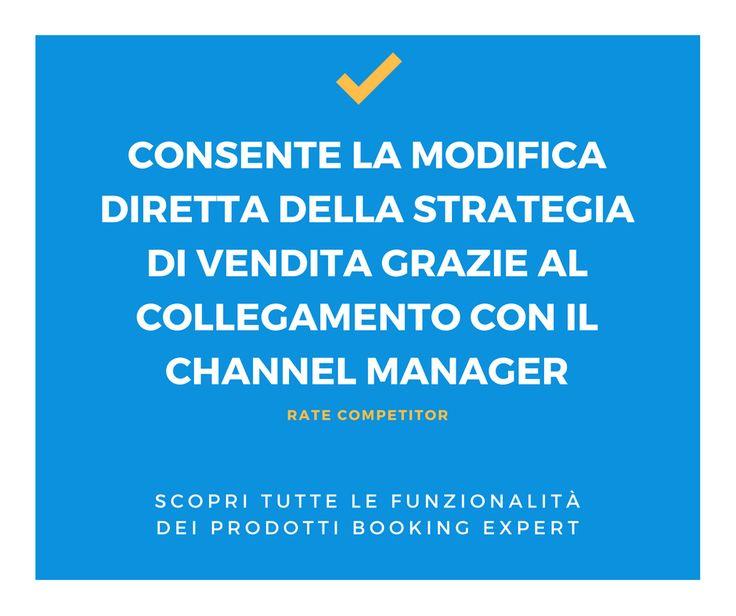 Modifica la tua strategia in base al mercato! Rate Competitor - Hotel Marketing - Booking Expert - http://www.bookingexpert.it/ratecompetitor.html