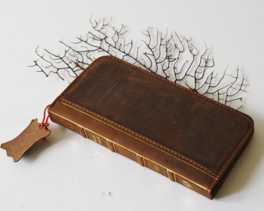 Old Leather Book Iphone Cover : Most beautiful book style iphone covers and cases