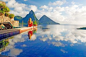 Unique St Lucia Infinity Pool