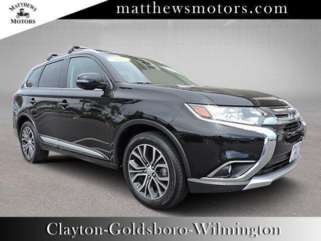 Matthew Motors Goldsboro Nc >> Used 2017 Mitsubishi Outlander Sel For Sale At Matthews Motors