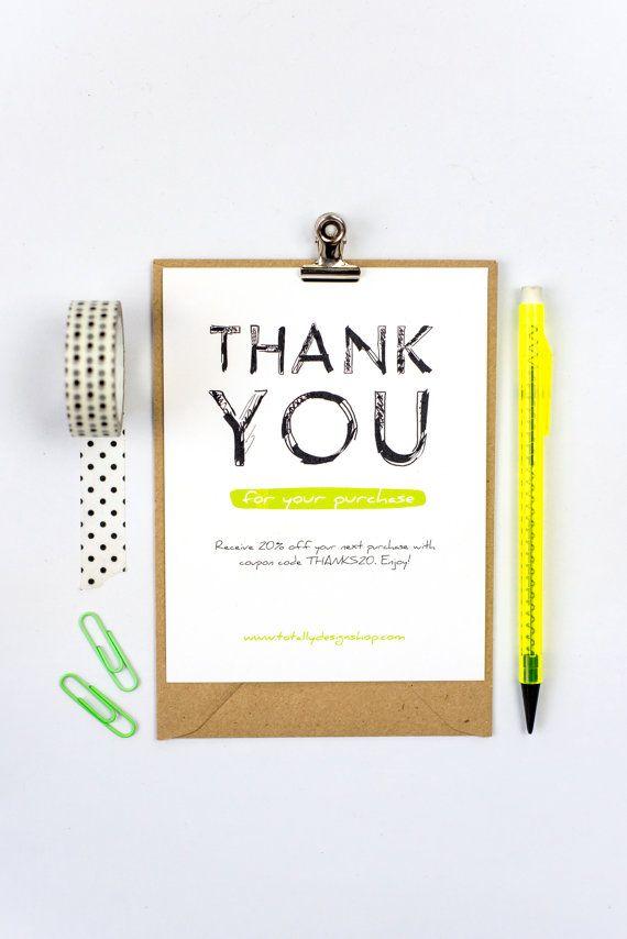 Best 25+ Business Thank You Cards Ideas On Pinterest | Graduation