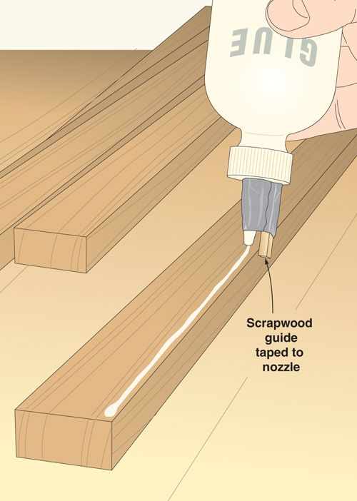Click To Enlarge - Pinstripe-perfect glue lines