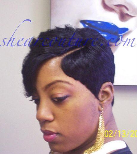 Short Quick Weave Hairstyles Hair Pinterest Short