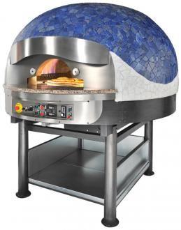 Pizza pec na plyn FG + plynom vyhrievaná aj varná doska