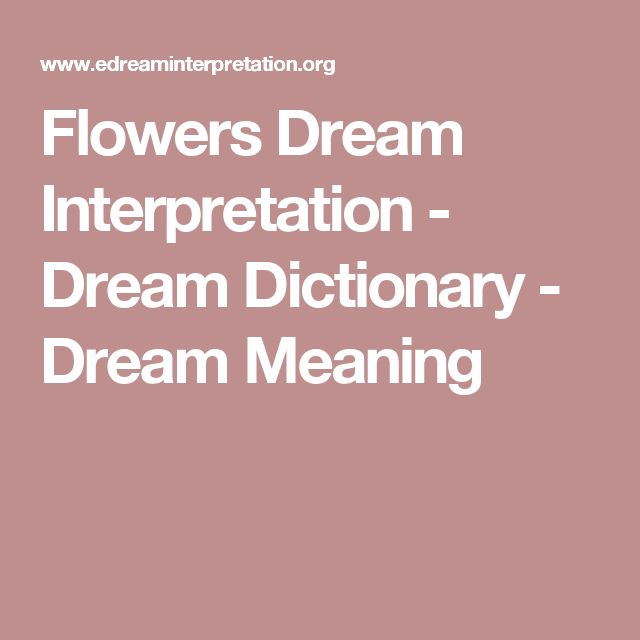 dream moods dream dictionary meanings for symbols that - 640×640