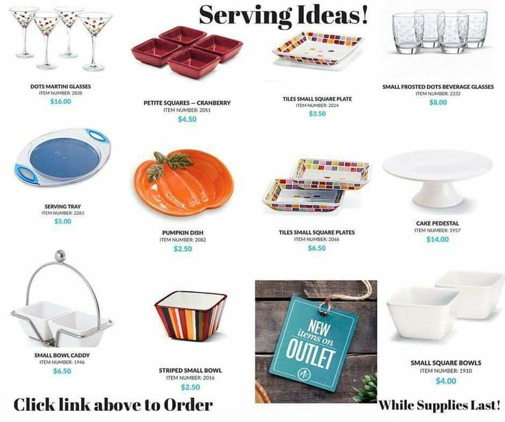 Pampered Chef's OUTLET is changing often! Check out my website to see the amazing deals! Www.pamperedchef.com/pws/meganhartlen/shop/outlet