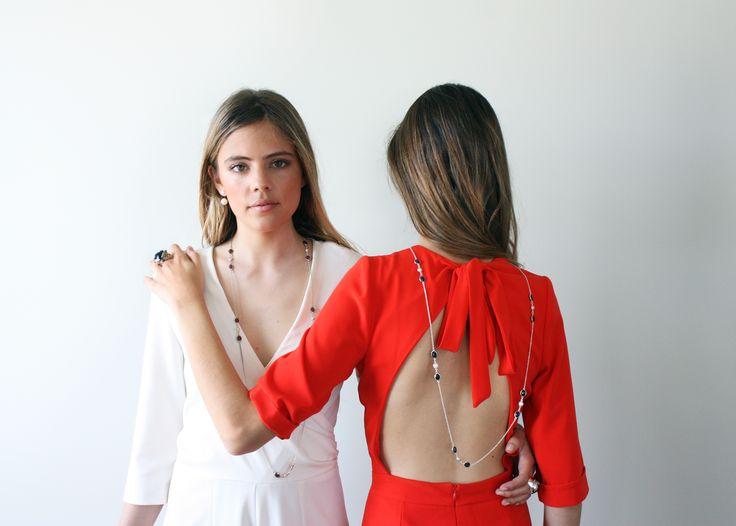 Collier Leonor d'Elicce avec saphirs ou dry rubis. un grand classique que vous ne quitterez pas!!! #collier #necklace #ruby #saphir #sapphire #jewelry