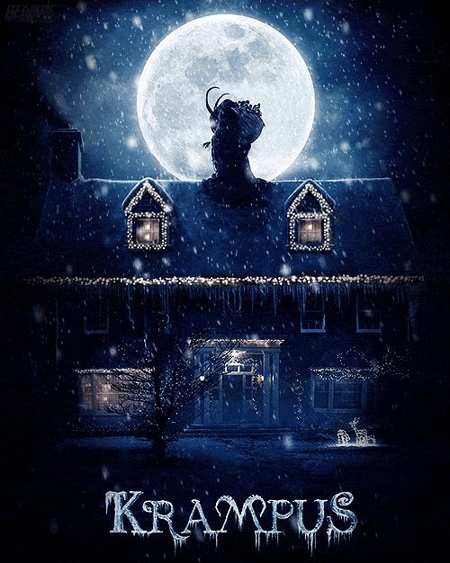 Who's going to see Krampus tomorrow? I can't wait to see it!