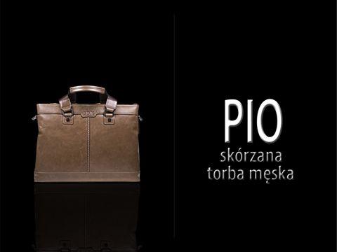 Męska torba skórzana Pio od Perfectto: http://www.perfectto.eu/pio-torba-ze-skory-naturalnej-meska-lub-damska W komplecie z paskiem na ramię. :) #torbameska