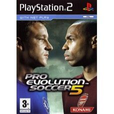 Pro Evolution Soccer 5 PAL for Sony Playstation 2/PS2 from