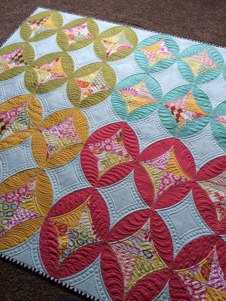 812 Best Quilts With Curves Images On Pinterest Paper